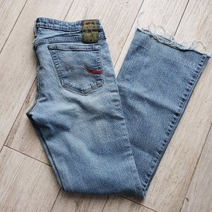 Vintage Parasuco low rise boot cut/flare jeans
